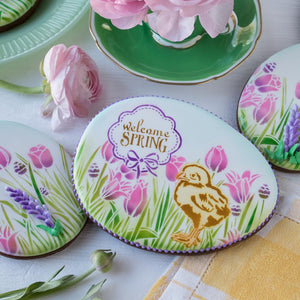 Easter Greetings Dynamic Duos Cookie Stencil Set