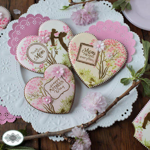 A Mother's Love Dynamic Duos Cookie Stencil Set
