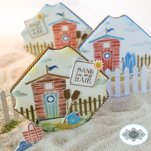 Beach Cabana Dynamic Duos Cookie Stencil Set