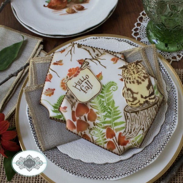 Fall is Calling Dynamic Duos Cookie Stencil Set