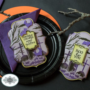 Boo To You Dynamic Duos Cookie Stencil Set