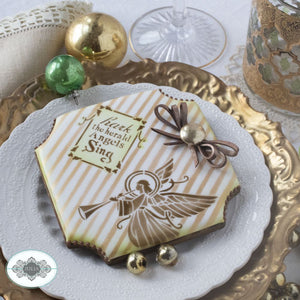 Joyeux Noel Dynamic Duos Cookie Stencil Set
