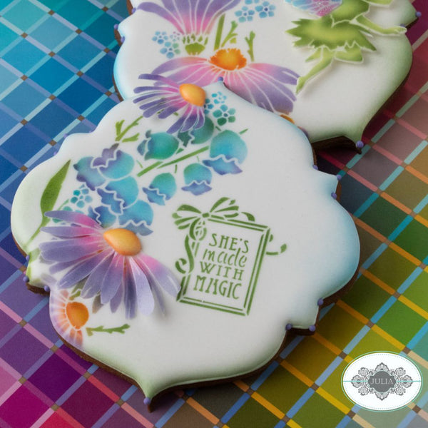 Magic Wishes Dynamic Duos Cookie Stencil Set