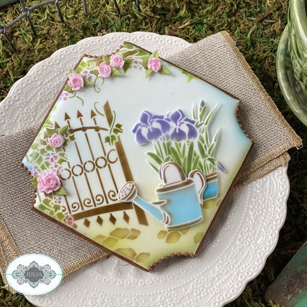 How Does Your Garden Grow Dynamic Duos Cookie Stencil Set