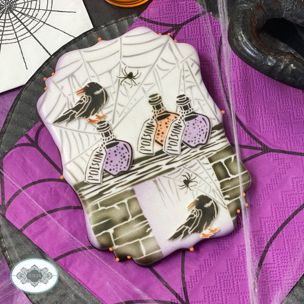 Home Spooky Home Dynamic Duos Cookie Stencil Set
