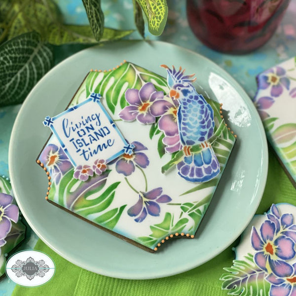 Slice of Paradise Dynamic Duos Cookie Stencil Set