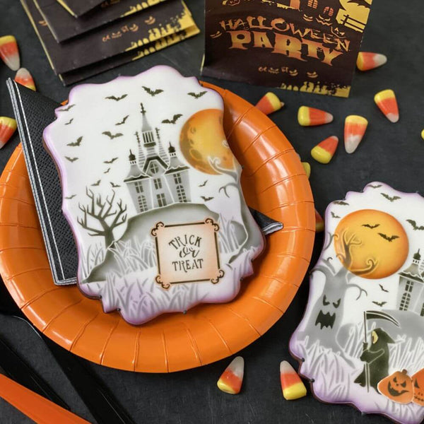 A Haunting We Will Go Dynamic Duos Cookie Stencil Set