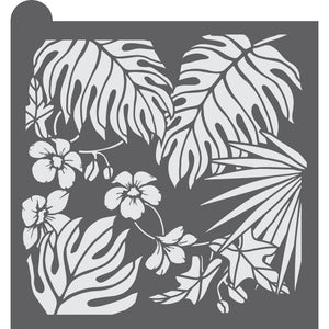 Jungle Dynamic Duos Background Cookie Stencil