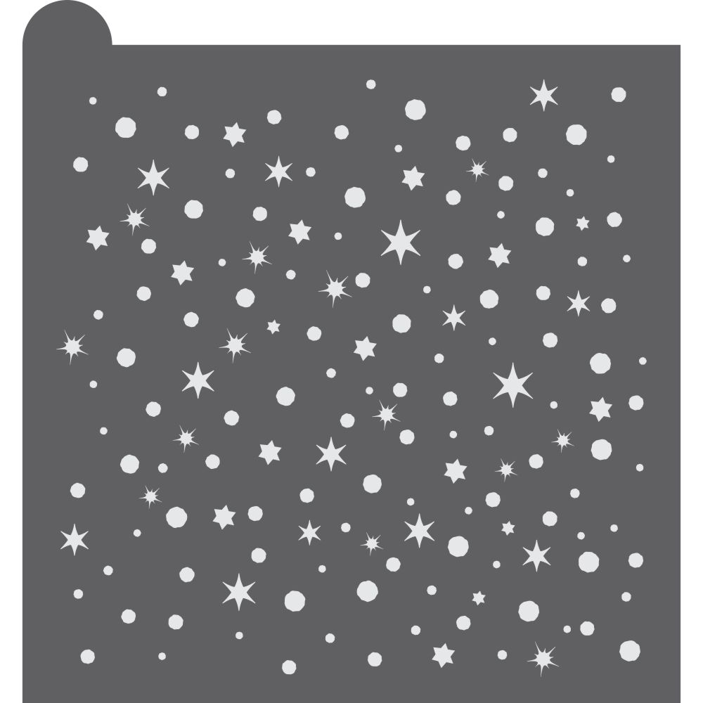 Festival of Lights Dynamic Duos Background Cookie Stencil