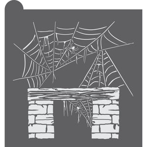 Cobwebbed Mantle Dynamic Duos Background Cookie Stencil