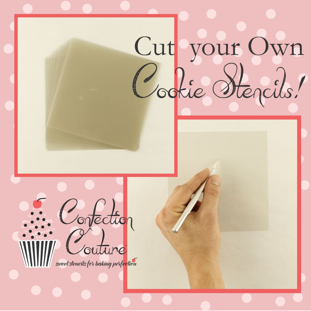Cut-Your-Own Cookie Stencils by Confection Couture