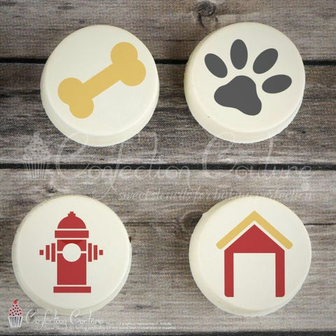 Dogs Life Accent Cookie Stencil Accents
