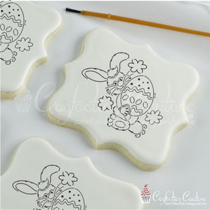 Easter Bunny Paint Your Own Cookie Stencil Pyo