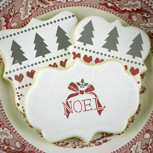 First Noel Basic Words Cookie Stencil Words