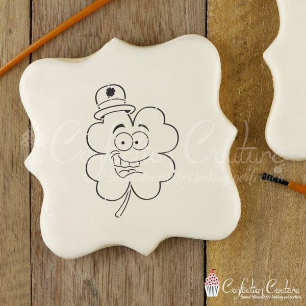Four Leaf Clover Paint Your Own Cookie Stencil Pyo