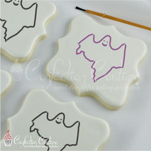 Ghost Paint Your Own Cookie Stencil Pyo