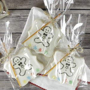 Gingerbread Paint Your Own Cookie Stencil Pyo