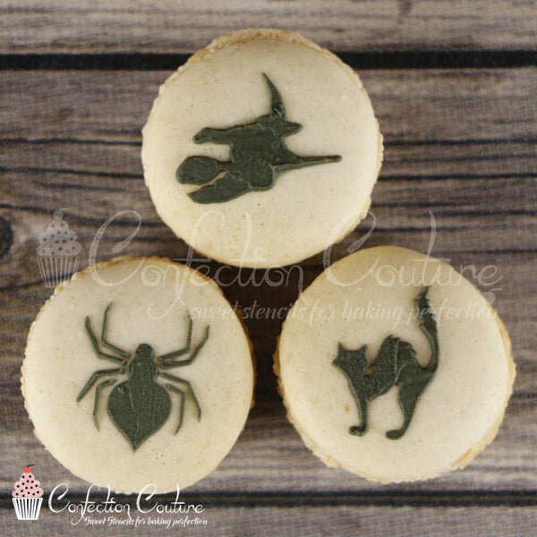 Halloween Round Cookie Stencil 3 Pc Set