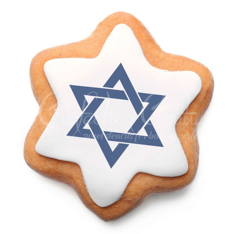 Hanukkah Trinkets Accent Cookie Stencil Accents