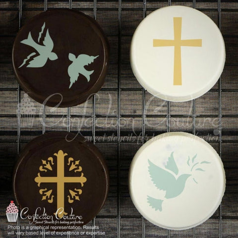 Heavenly Blessings Accent Cookie Stencil Accents