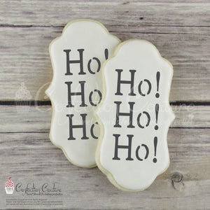 Ho Accent Cookie Stencil Accents