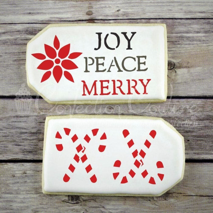 Holiday Trinkets Accent Cookie Stencil Accents