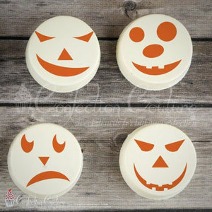 Jack O Lantern 2 Accent Cookie Stencil Accents