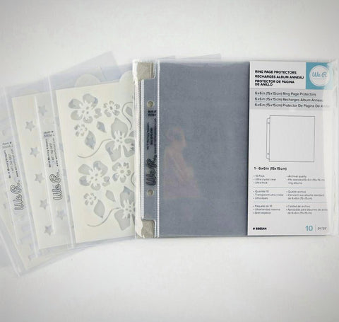Memory Keepers Page Protectors