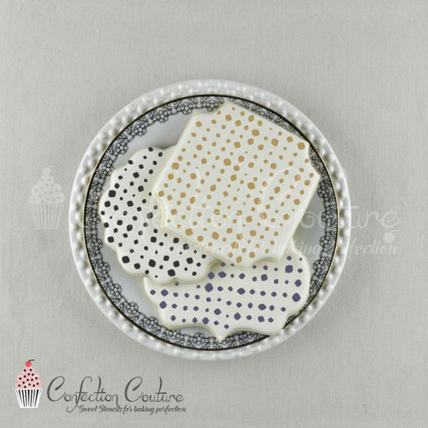 Nolita Dots Background Cookie Stencil Background