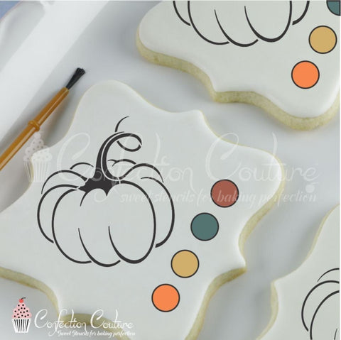 Pumpkin Paint Your Own Cookie Stencil Pyo