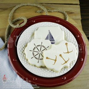Sailors Life Accent Cookie Stencil Accents