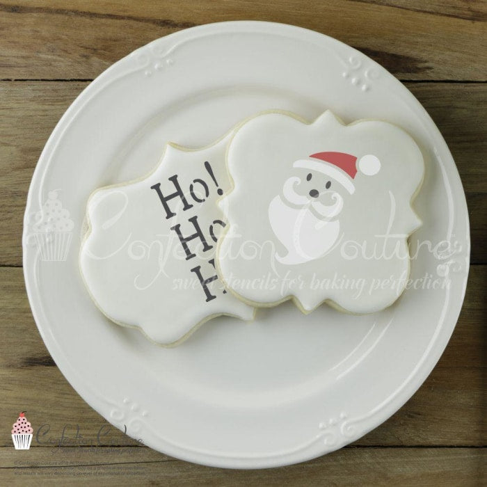 Santa Claus Accent Cookie Stencil Accents
