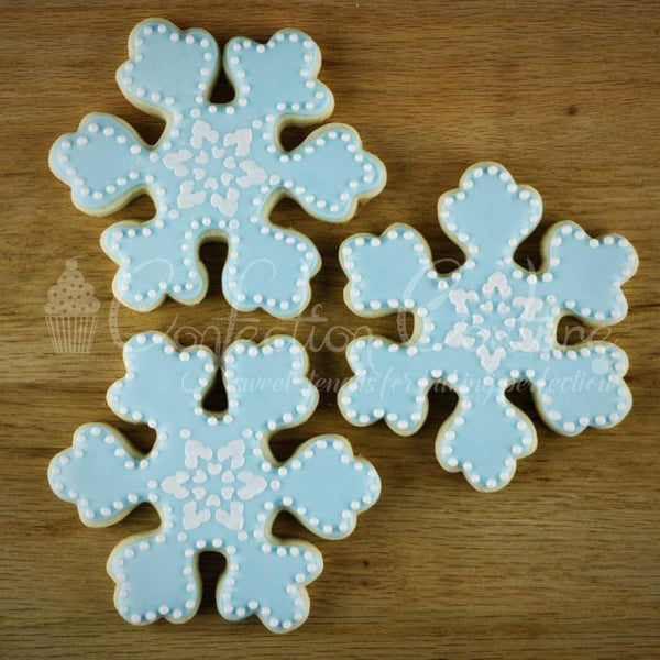 Snowflakes Accent Cookie Stencil Accents