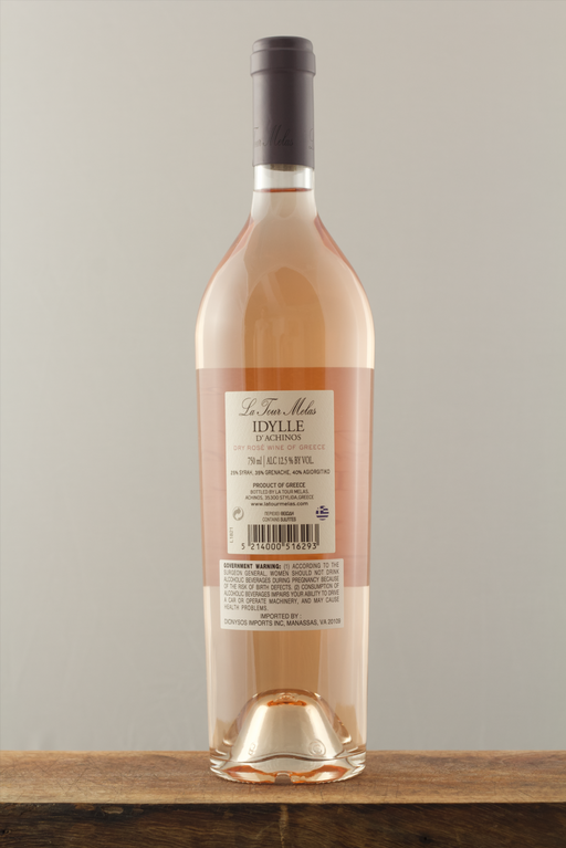 La Tour Melas Idylle D'achinos Rose -  Greek Wine Trips