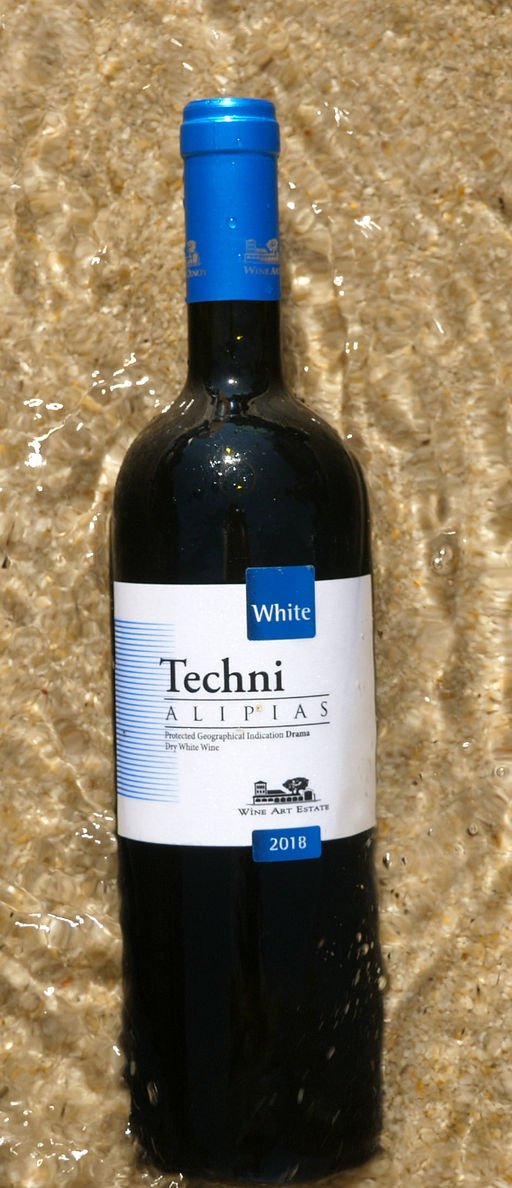 Techni Alipias White -  Greek Wine Trips