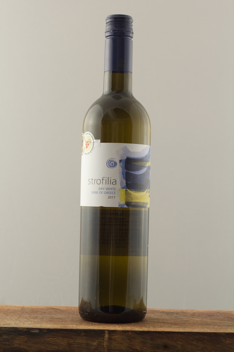 Strofilia Dry White -  Greek Wine Trips