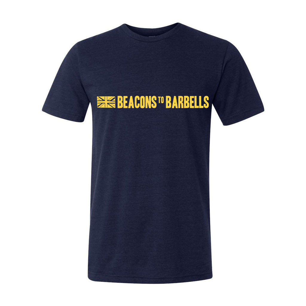 Navy and Yellow Classic Tee