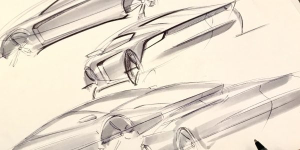 EASIEST Way To Sketch A Car In ANY Perspective In Less Than 5 Minutes