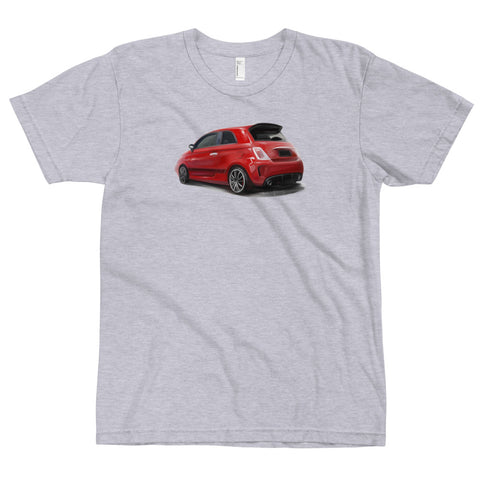 Fiat 500 Abarth TSM Painting T-Shirt