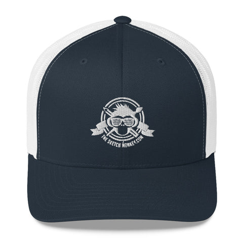 TheSketchMonkey Trucker Cap