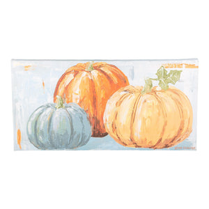 Three Pumpkins Canvas