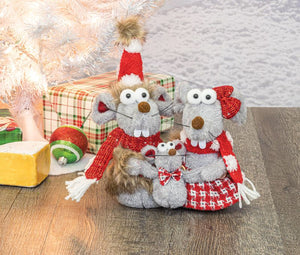 McJingles Mouse Family Tabletop Sitter