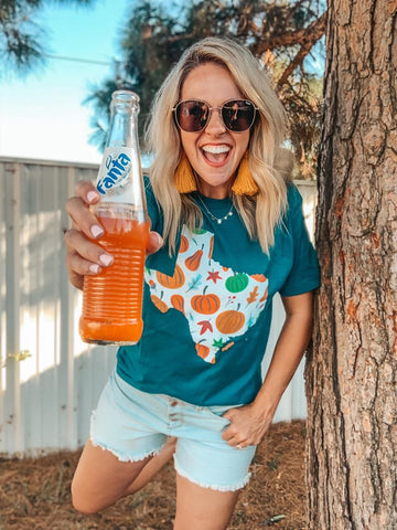 Texas Pumpkin Tee