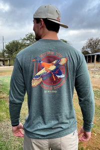 Burlebo || Suns Up Birds Down LS T-Shirt