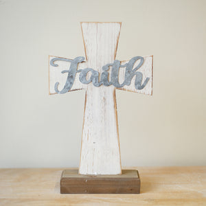 Faith Cross Decor