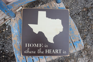 12x12 Home is where the Heart is