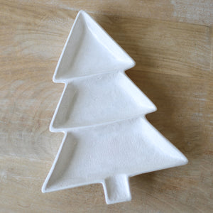 Christmas Tree Divided Dish