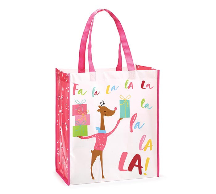 Fa La La La Deer Cheer Tote