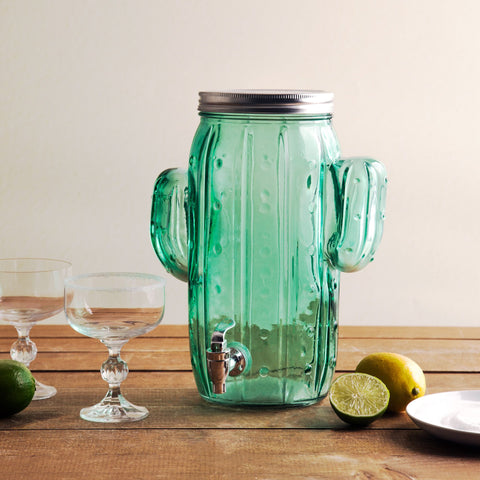 1 Gallon Cactus Green Beverage Dispenser