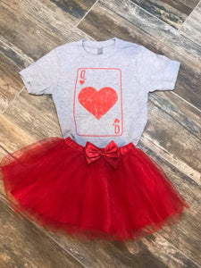 Queen of Hearts Tee -  Kids